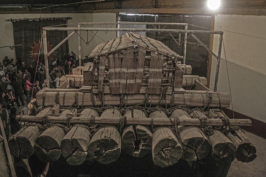 Reposa La Atlantis a la espera de su museo