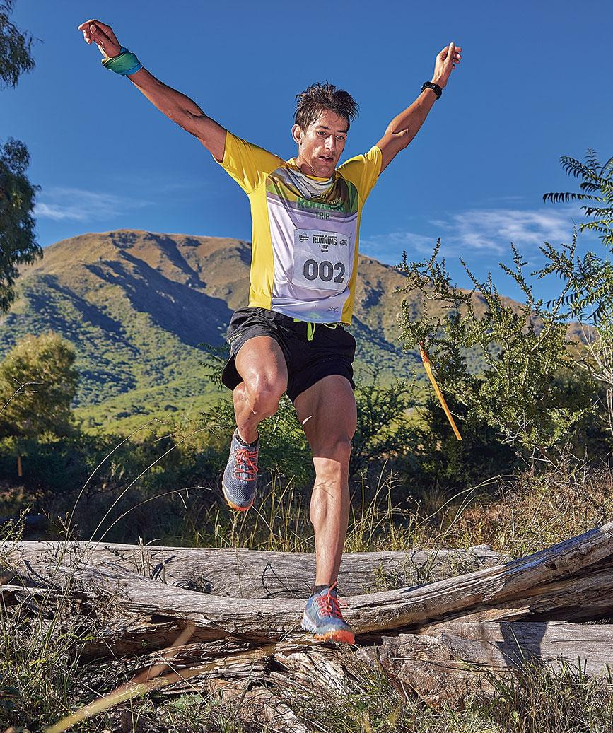 Ezequiel Pauluzak un referente del trail running