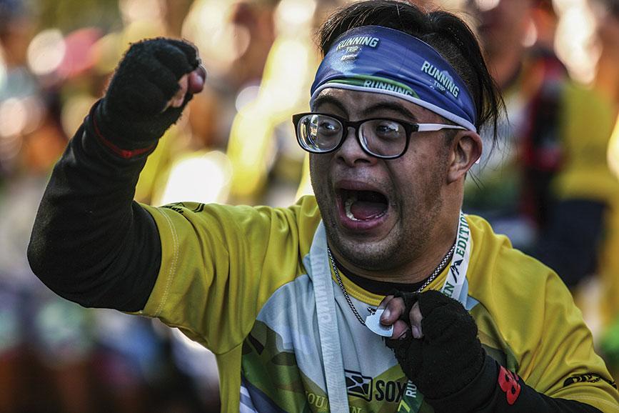 Ramiro Cattani abanderado de Running Trip
