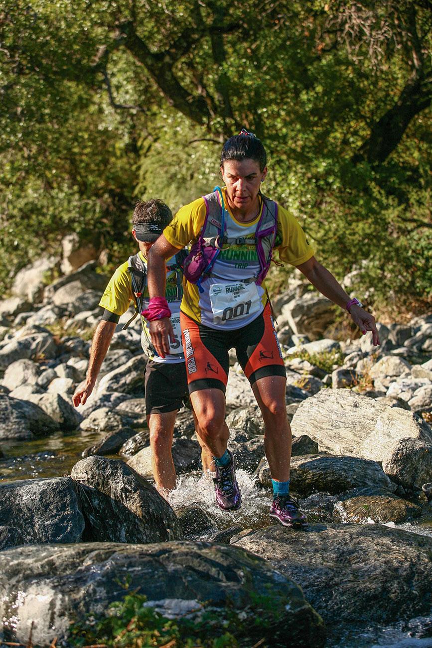 Tania Díaz Slater ganadora de los 25 km