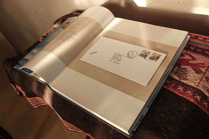 Carta de Thor Heyerdahl reproducida en el libro de la Atlantis.
