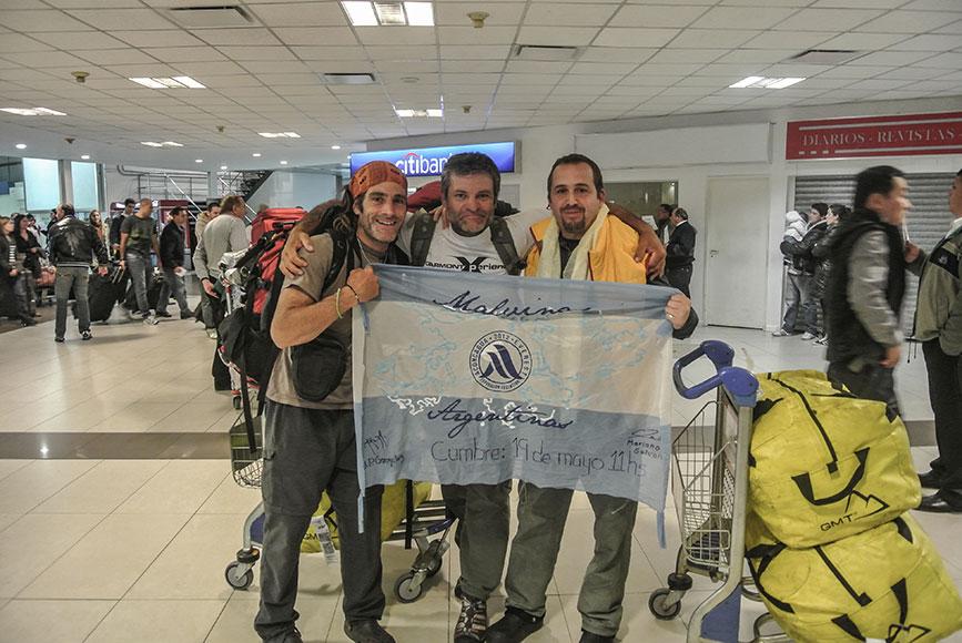 Al partir al Everest con Gonzalo Rivarola