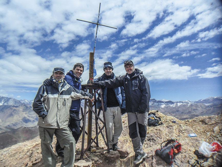 Cumbre del Cerro Penitentes 4350 msnm