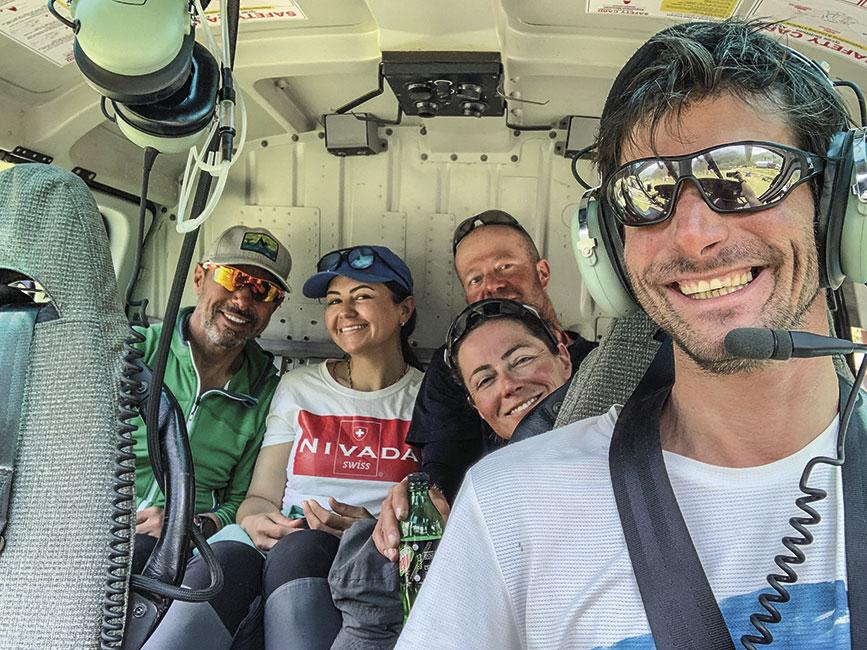Vuelos para bajar a Katmandu en poco más de 24 hs desde el campo base