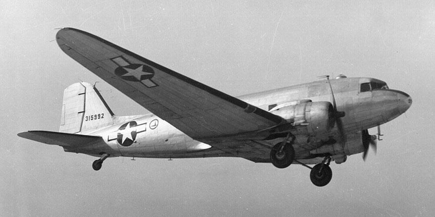 Avión C 47