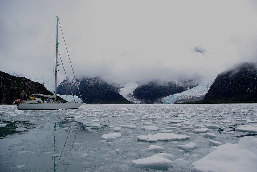 Fiordo Pia Tierra del Fuego